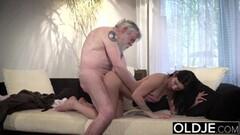 Hot Busty Lesbian MILF Seduces Teen Thumb