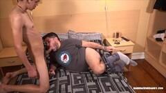 Kinky Long-Legged, Lanky, and Slim Russian Teen Have Anal Thumb