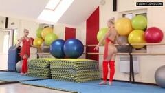 Naughty Dora Tornaszkova nude splits and bridges Thumb