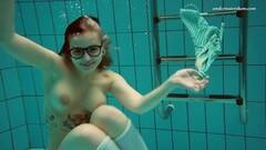 Naughty Dashka submerged underwater Thumb