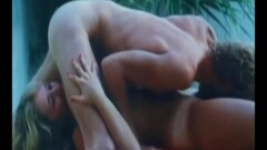 Steamy Vintage Hairy Sex From 1978 is Done Outdoor Thumb
